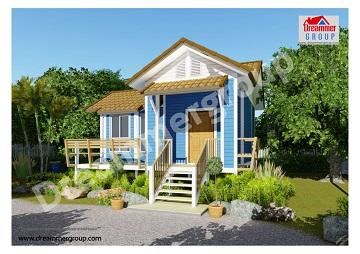 บ้านน็อคดาวน์ บริการรับสร้างบ้าน ออกแบบบ้านน็อคดาวน์ บ้านสำเร็จรูปราคาถูก
