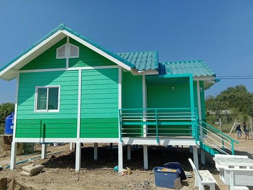 บ้านน็อคดาวน์ บ้านสำเร็จรูป สร้างตามสไตล์ที่ต้องการ